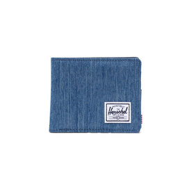 Herschel Supply Co. Herschel Roy+ Wallet - Faded Denim/Indigo Denim