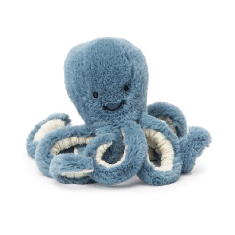 Jellycat Octopus - Storm - Baby - 7 Inches