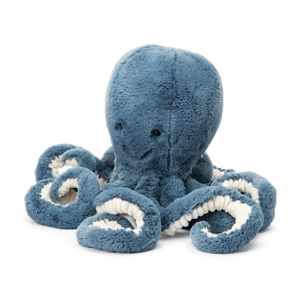 Jellycat Octopus - Storm - Medium - 19 Inches