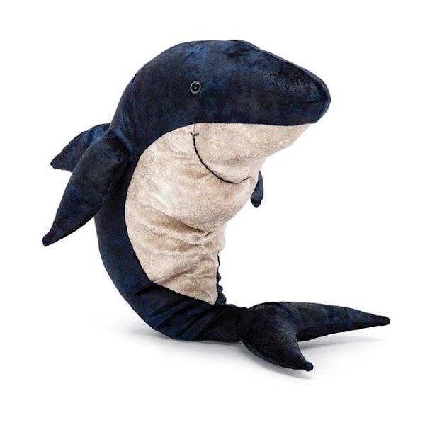 Jellycat Jellycat Victor Great White Shark - 15 Inches