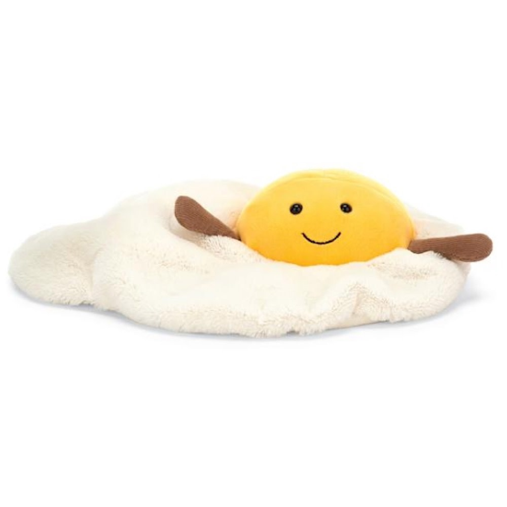 Jellycat Amuseable Fried Egg - Medium - 10 inches