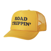 Tiny Whales Road Trippin' Kid's Trucker Hat - Gold