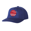 Tiny Whales Coastal Kid's Trucker Hat - Navy
