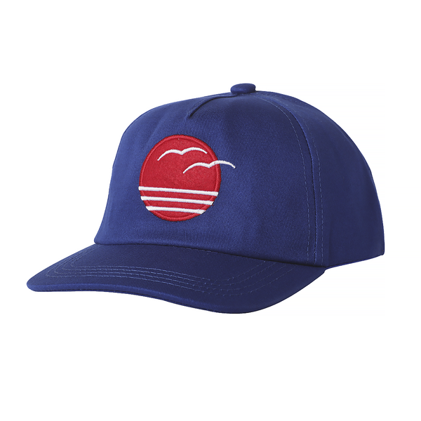 Tiny Whale Tiny Whales Coastal Kid's Trucker Hat - Navy