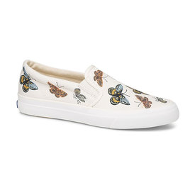 KEDS KEDS Adult + Rifle Paper Co. - Anchor Slip On - Monarch - Natural