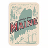 Daytrip Society Retro Maine Postcard - Pack of 5