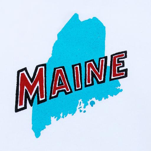 Maine State Onesie