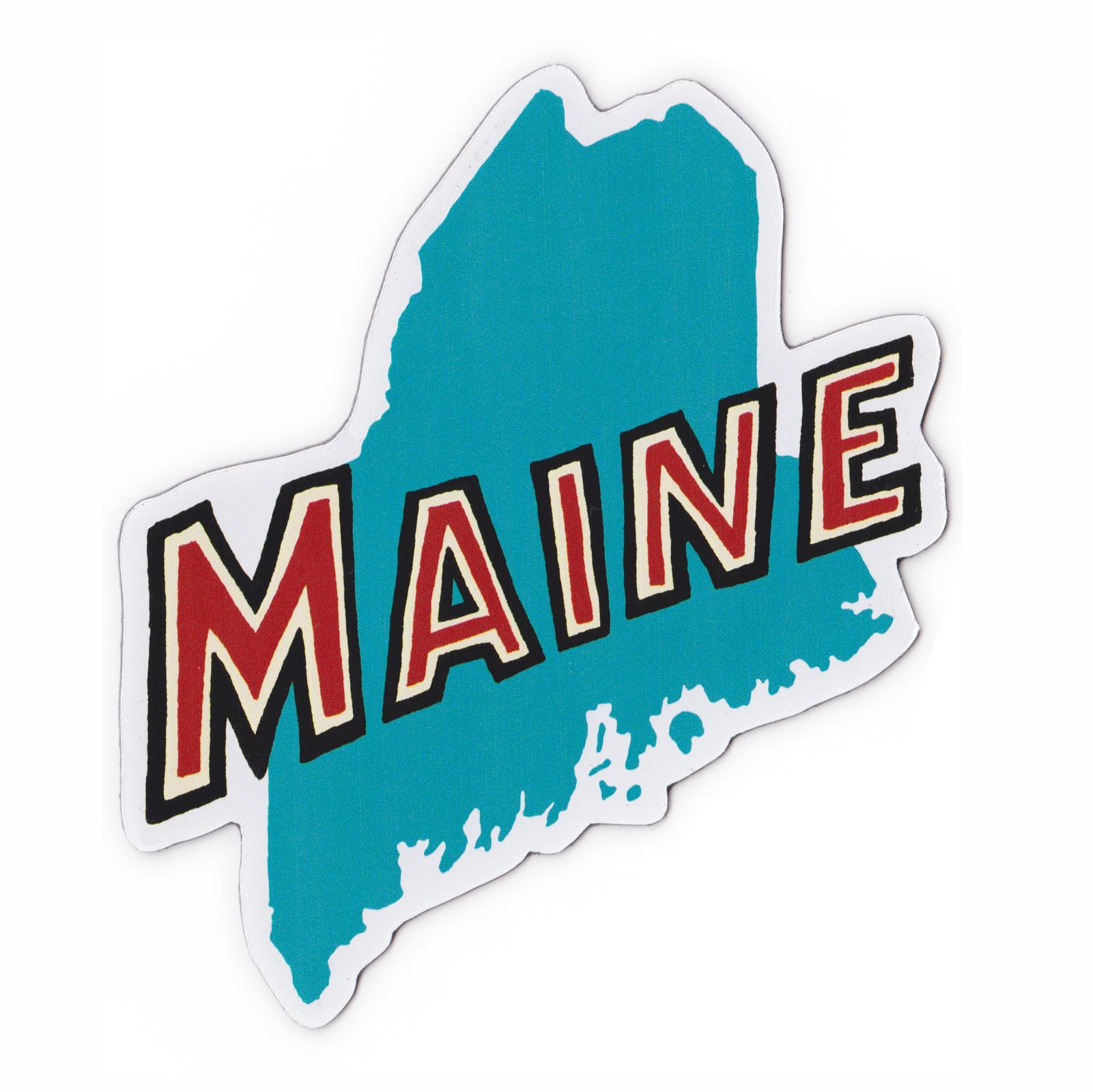 Daytrip Society Maine State Magnet