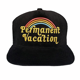 Tiny Whales Tiny Whales Permanent Vacation Kid's Corduroy Snap Back