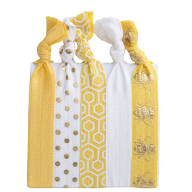 Daytrip Society Hair Ties Set of 5 - Bee's Knees