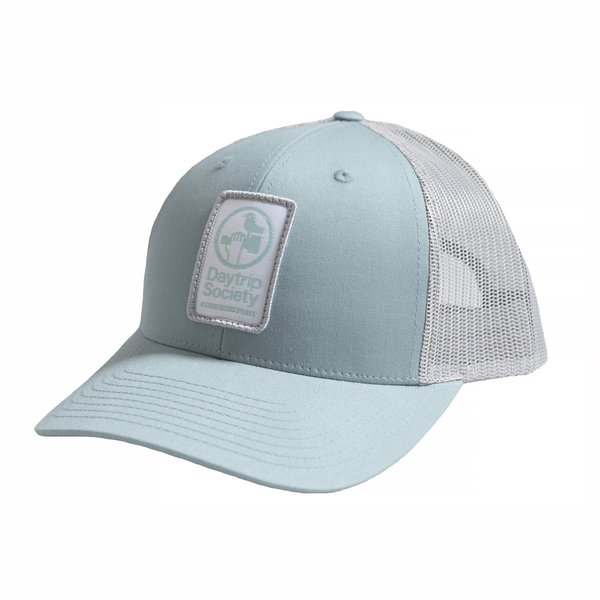 Richardson Daytrip Society LoPro Trucker Hat - Smoke Blue - M/L