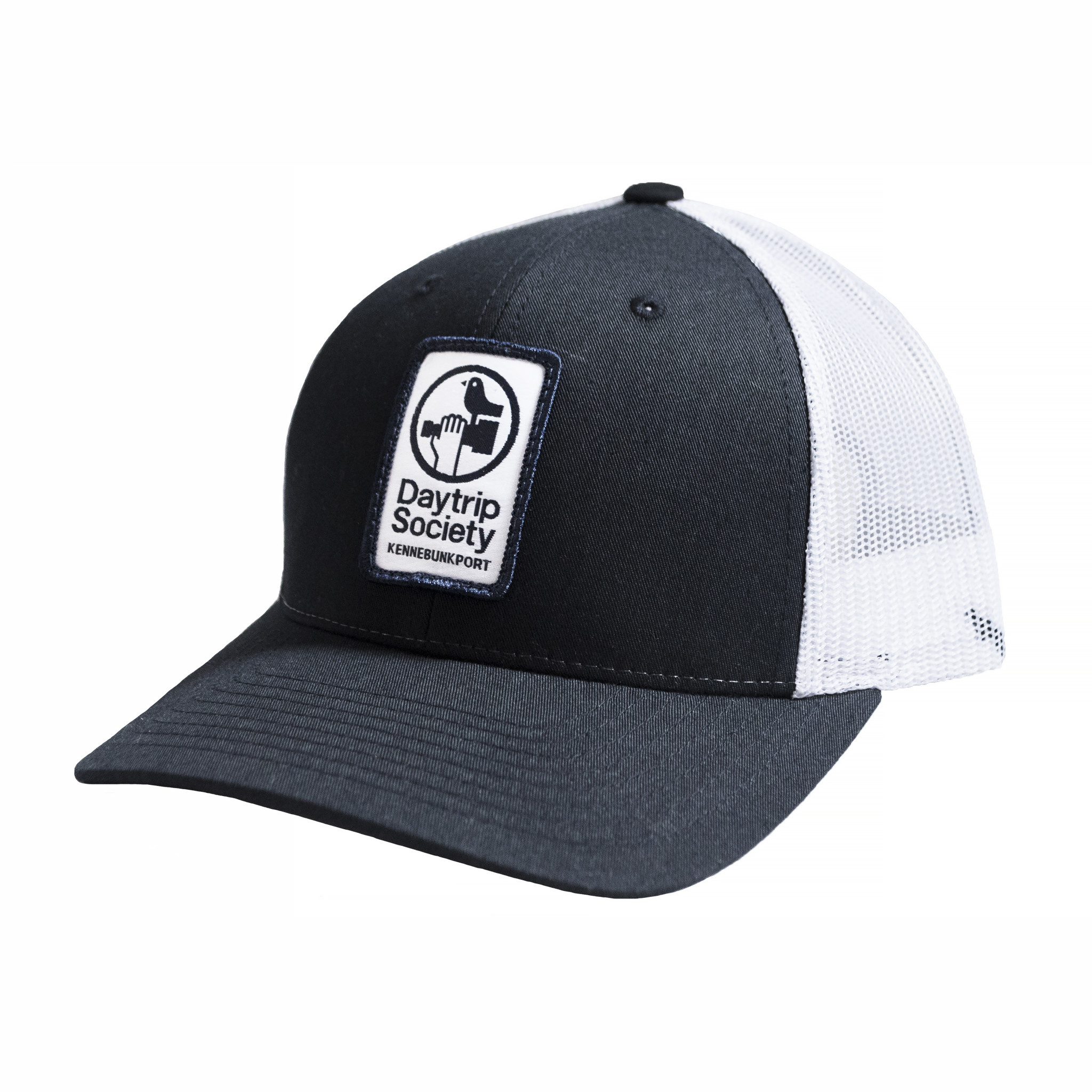 Daytrip Society Logo Trucker Hat - Navy - M/L