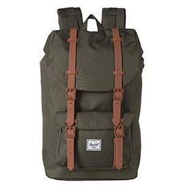 Herschel Supply Co. Herschel Little America Backpack - Dark Olive/Saddle