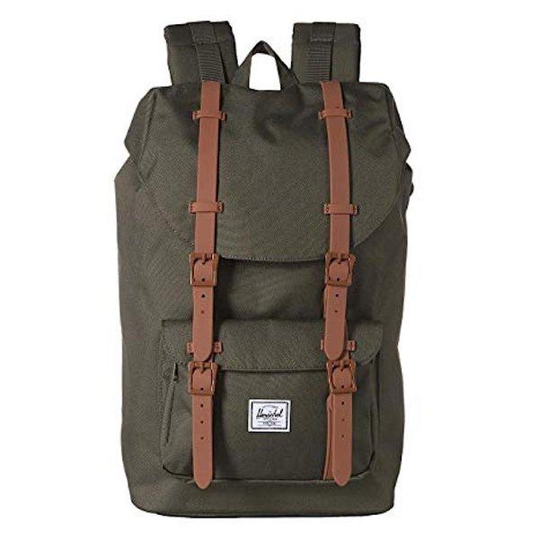 Herschel Supply Co. Herschel Little America Backpack - Dark Olive/Saddle