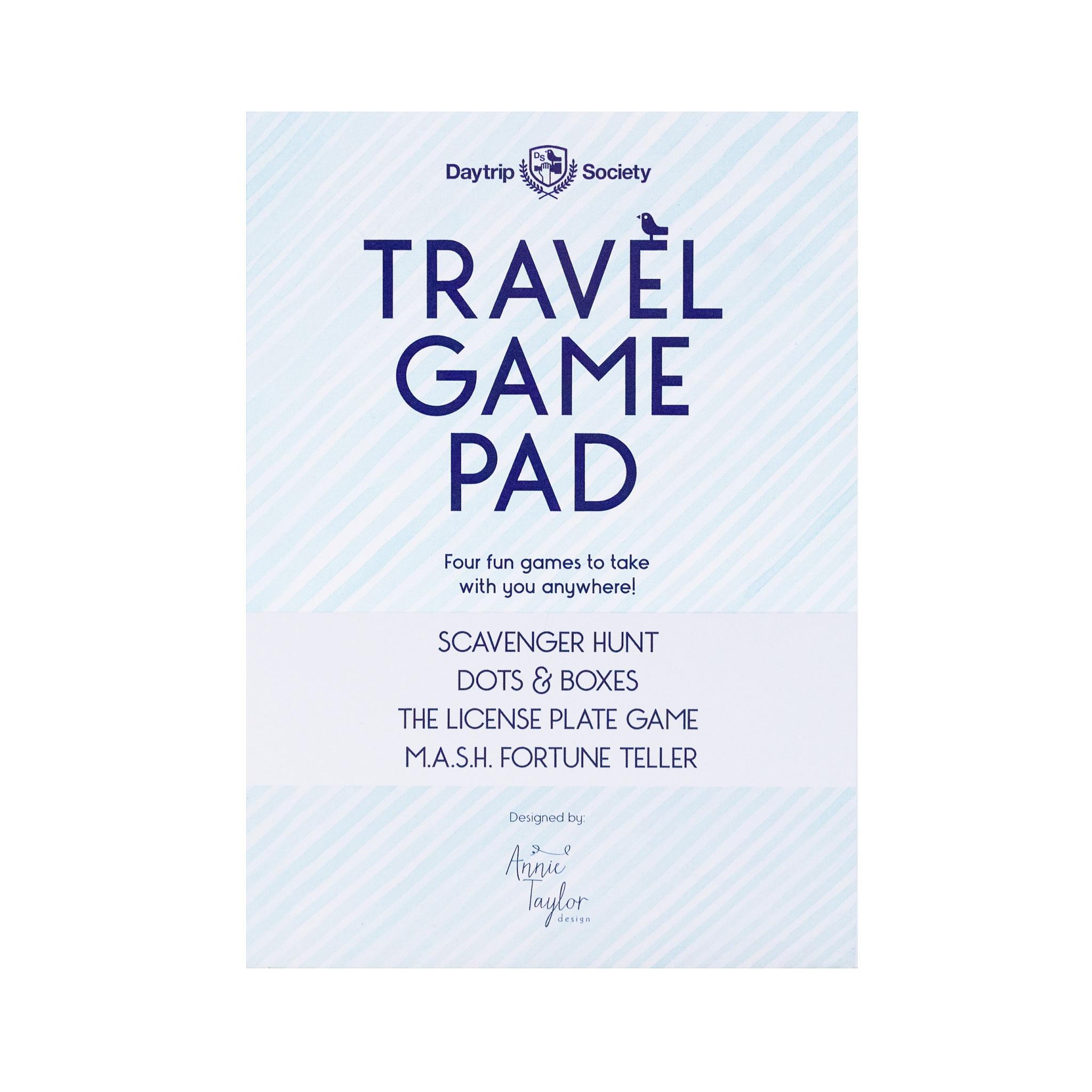 Annie Taylor Design Daytrip Society Travel Game Pad