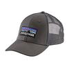 Patagonia Trucker Hat LoPro - P6 Logo - Forge Grey