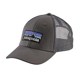 Patagonia Patagonia P6 Logo LoPro Trucker Hat Forge Grey