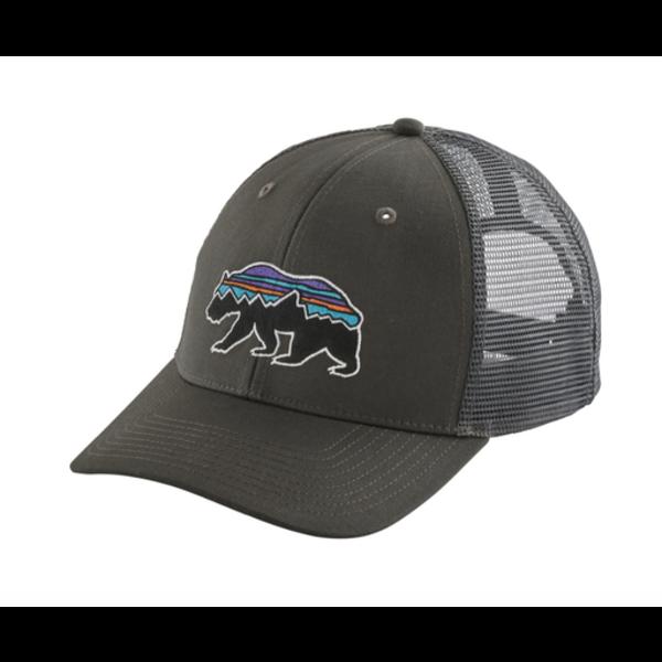 Patagonia Patagonia Fitz Roy Bear Trucker Hat Forge Grey