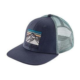 Patagonia Patagonia Trucker Hat Kids - Line Logo Ridge - Dolomite