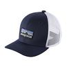 Patagonia Kids Trucker Hat P-6 Logo Navy Blue