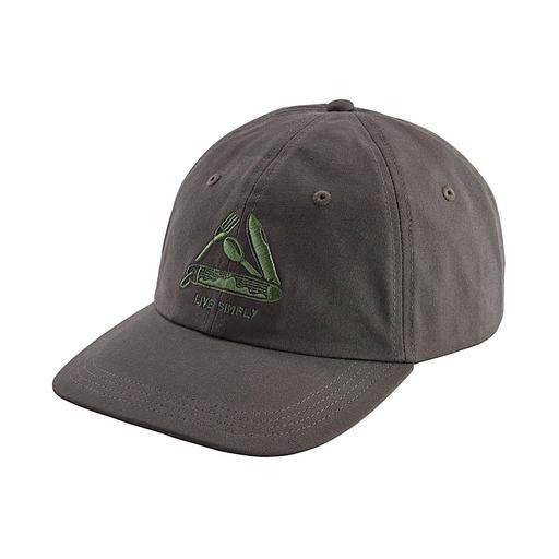 Patagonia Live Simply Pocketknife Trad Cap Forge Grey