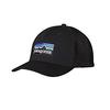 Patagonia P6 Logo Trucker Hat Black