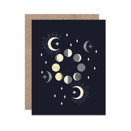 Olive & Company Card - Celestial Moon