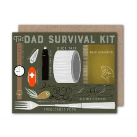 Olive & Company Olive & Company Card - Dad Survival Kit