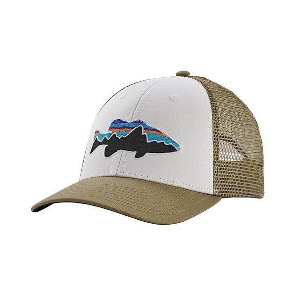 Patagonia Patagonia Fitz Roy Smallmouth LoPro Trucker Hat White