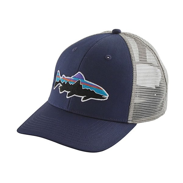 Patagonia Patagonia Fitz Roy Trout Trucker Hat Classic Navy w/Drifter Grey