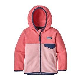 Patagonia Patagonia Baby Micro D Snap-T Jacket - Rosebud Pink