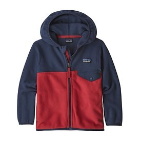 Patagonia Patagonia Baby Micro D Snap-T Jacket - Fire/Navy