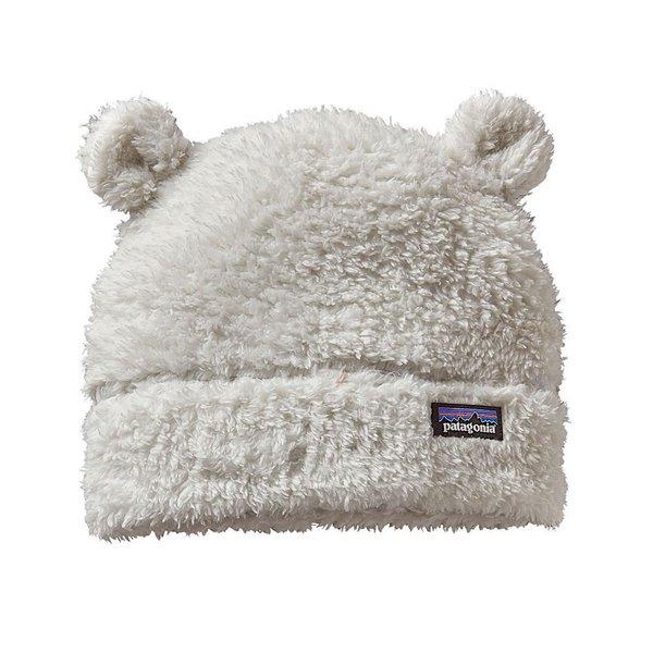 Patagonia Patagonia Baby Furry Friends Hat - Birch White