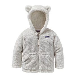 Patagonia Patagonia Baby Furry Friends Hoody - Birch White