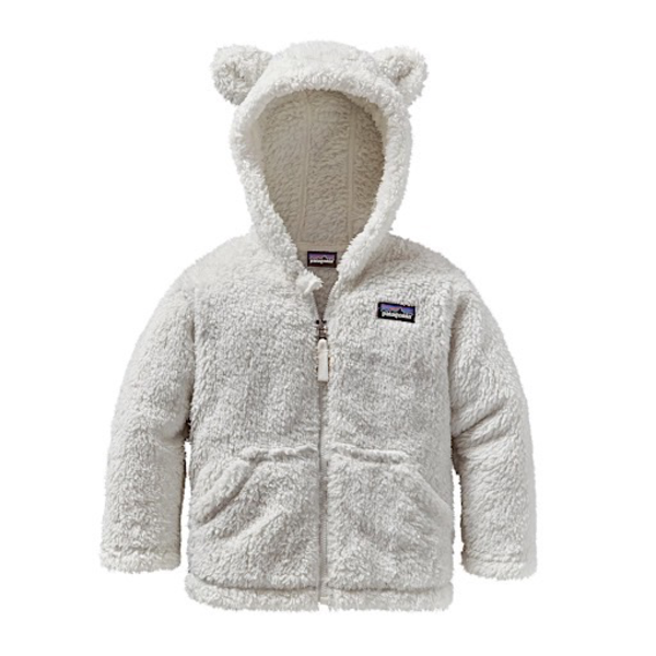 Patagonia Patagonia Baby Furry Friends Hoody Birch White