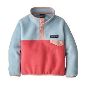 Patagonia Patagonia Baby LW Synch Snap-T Pullover - Range Pink