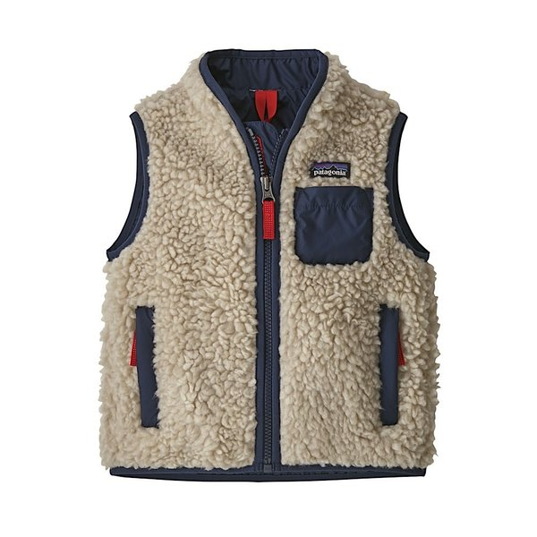 Patagonia Patagonia Baby Retro-X Vest Natural w/New Navy