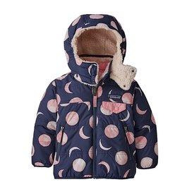 Patagonia Patagonia Baby Reversible Tribbles Hoody Many Moons: Rosebud Pink
