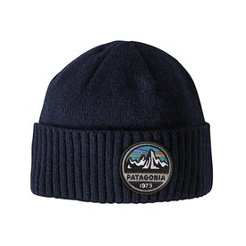 Patagonia Patagonia Brodeo Beanie Fitz Roy Scope: Navy Blue