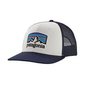 Patagonia Patagonia Fitz Roy Horizons Trucker Hat White w/Classic Navy