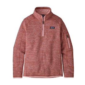 Patagonia Patagonia Girls Better Sweater 1/4 Zip - Aurea Pink