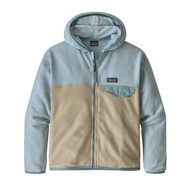 Patagonia Patagonia Girls Micro D Snap-T Jacket - Oyster White