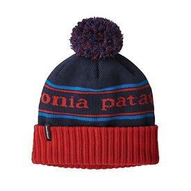 Patagonia Patagonia Kid's Powder Town Beanie Park Stripe: Fire