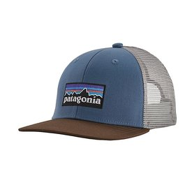 Patagonia Patagonia Trucker Hat Kids - P6 Logo - Woolly Blue