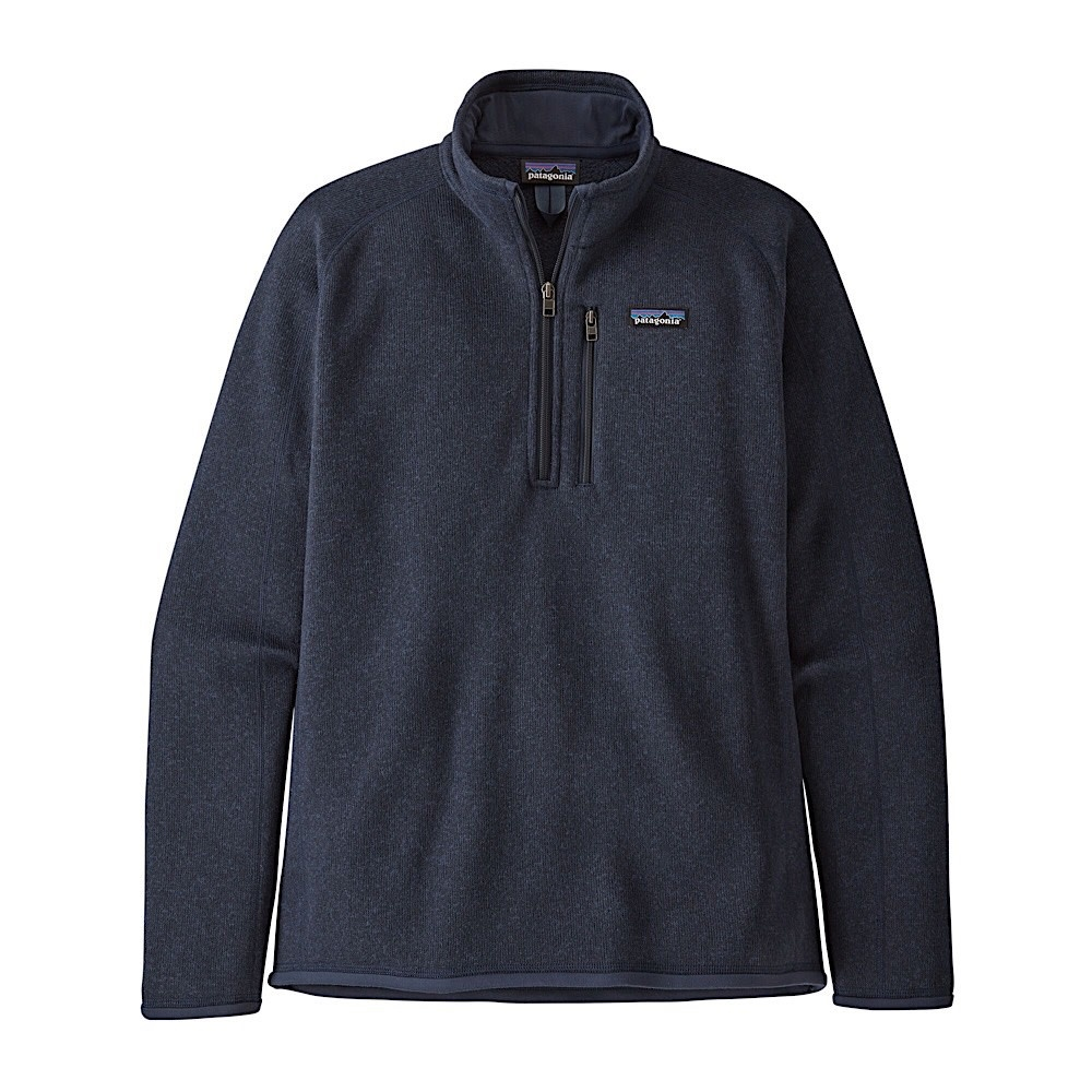 Patagonia Patagonia Mens Better Sweater 1/4 Zip - New Navy