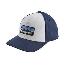 Patagonia Patagonia P-6 Logo Roger That Hat White w/Classic Navy