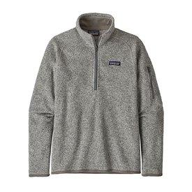 Patagonia Patagonia Womens Better Sweater 1/4 Zip - Birch White