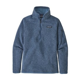 Patagonia Patagonia Womens Better Sweater 1/4 Zip - Woolly Blue