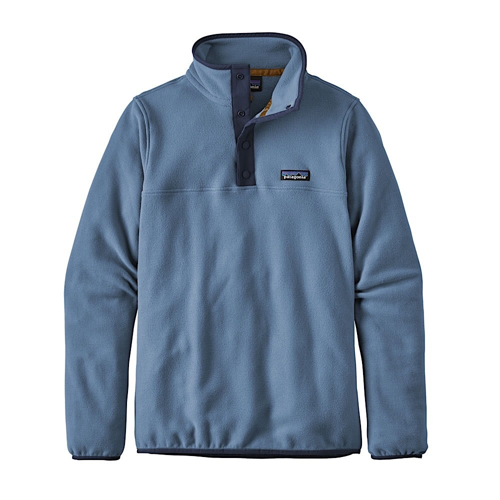 Patagonia Womens Micro D Snap-T Pullover - Woolly Blue