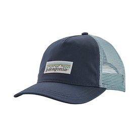 Patagonia Patagonia Women's Pastel P-6 Label Layback Trucker Hat Dolomite Blue